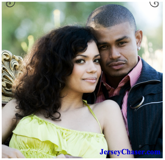 Earl Watson and wife Jennifer Freeman