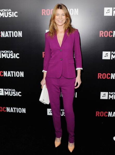 Ellen Pompeo attends Roc Nation Hosts Annual Private Pre-GRAMMY Brunch