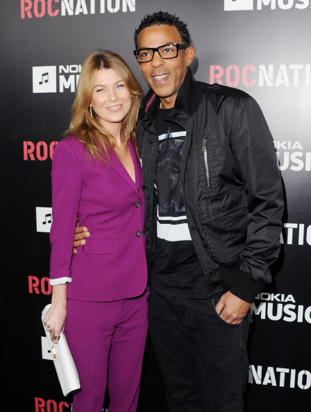 Ellen Pompeo and husband Chris Ivery attend Roc Nation Hosts Annual Private Pre-GRAMMY Brunch