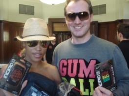 Eve and Maximillion Cooper - Gumball promotion