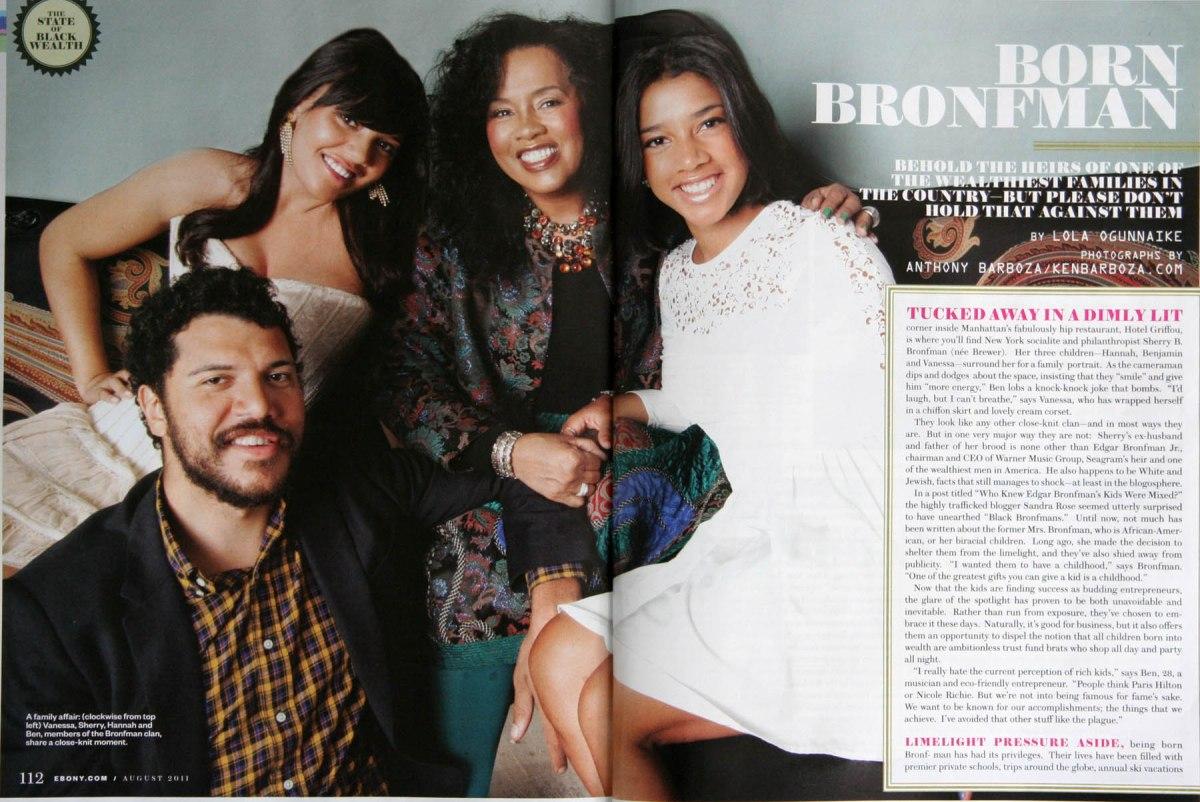 Hanna Bronfman and family