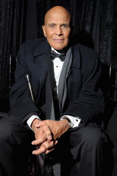 Harry Belafonte at amfAR New York Gala 2013
