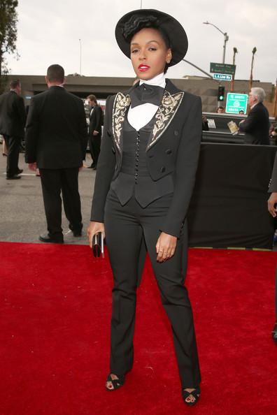 Janelle Monae 2013 Grammys