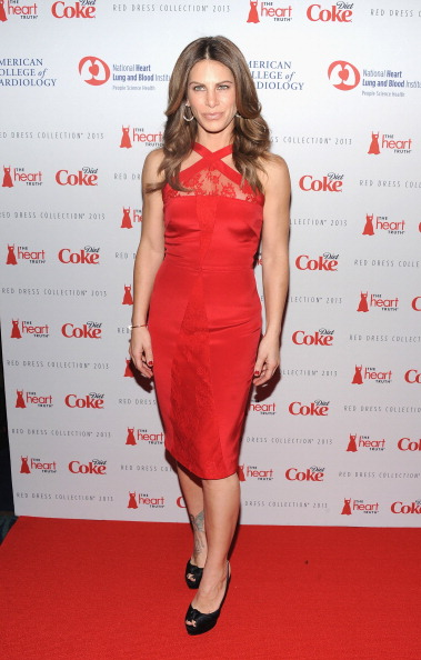 Jillian Michaels at The Heart Truth's Red Dress Collection 2013