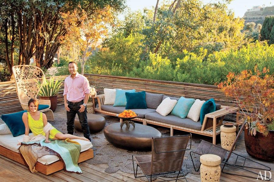 John Legend and Chrissy Teigen LA Home 1