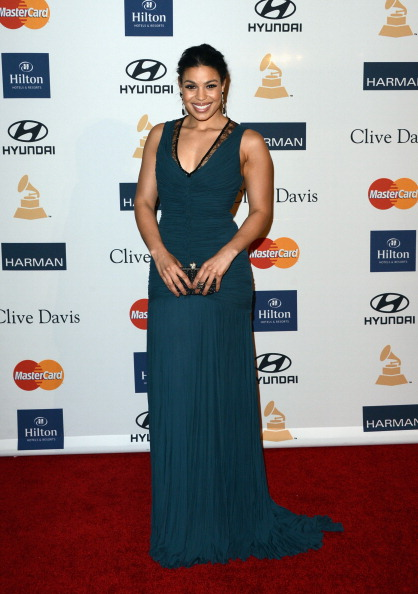 Jordin Sparks at Clive Davis & The Recording Academy's 2013 Pre-GRAMMY Gala