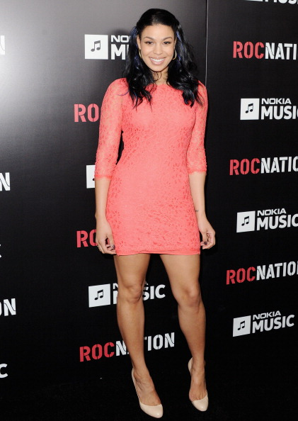 Jordin Sparks attends Roc Nation Hosts Annual Private Pre-GRAMMY Brunch