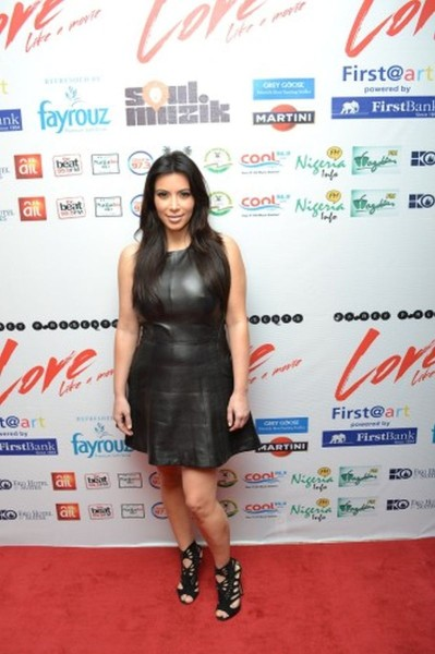 Kim Kardashian in Nigeria 1