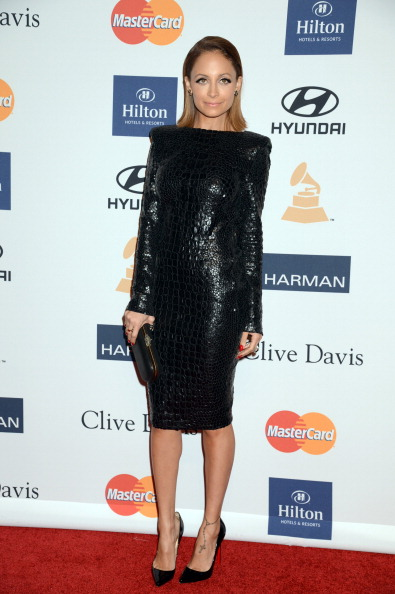 Nicole Richie at Clive Davis And The Recording Academy's 2013 GRAMMY Salute To Industry Icons Gala