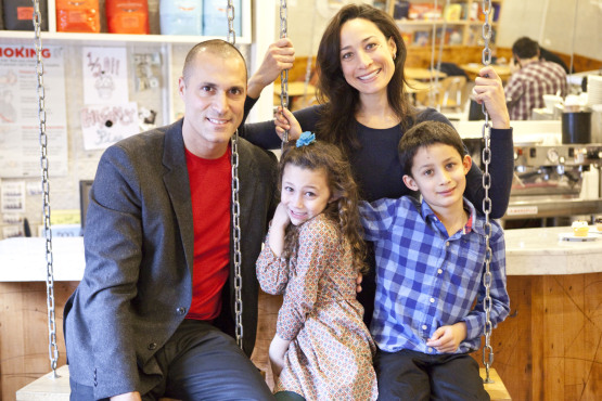 Nigel Barker and family 1