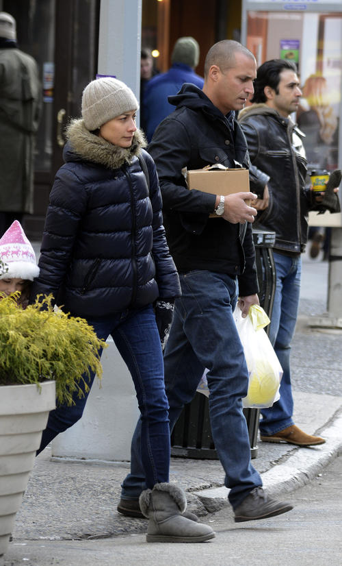 Nigel Barker Out and About With Wife Cristen Chin and Daughter Jasmine