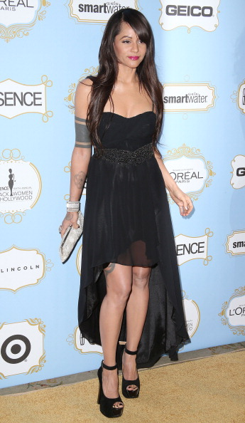 Persia White at 6th Annual ESSENCE Black Women In Hollywood Awards