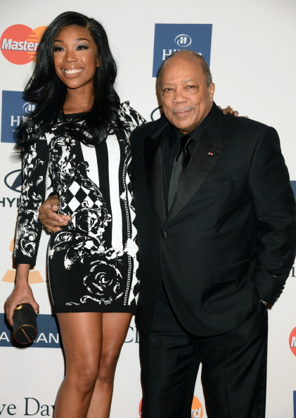 Quincy Jones at Clive Davis And The Recording Academy's 2013 GRAMMY Salute To Industry Icons Gala