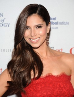 Roselyn Sanchez at The Heart Truth's Red Dress Collection 2013