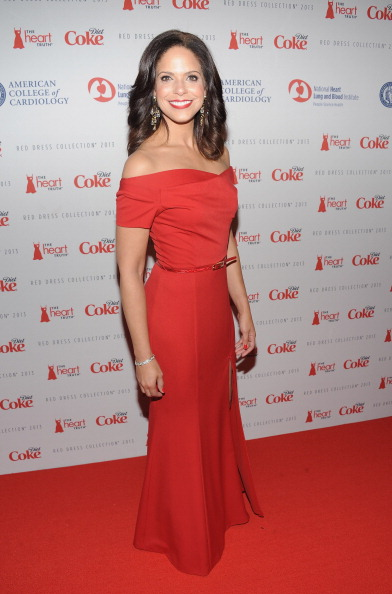 Soledad O'Brien at The Heart Truth's Red Dress Collection 2013