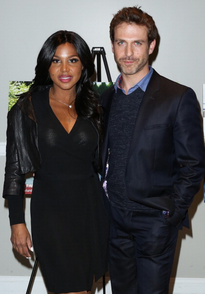 "Toni Braxton and David Hirsch at the ""Twist Of Faith"" Los Angeles Premiere 2"