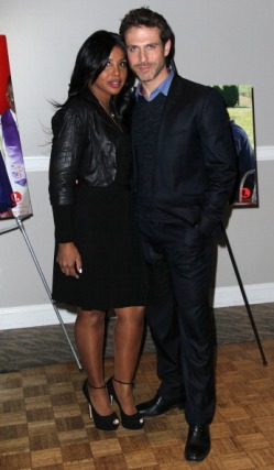 "Toni Braxton And David Hirsch at the ""Twist Of Faith"" LA premiere 3"