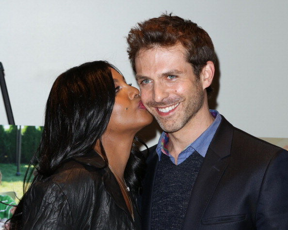 "Toni Braxton and David Hirsch at the ""Twist Of Faith"" Los Angeles Premiere"