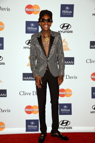 Wiz Khalifa at Clive Davis And The Recording Academy's 2013 GRAMMY Salute To Industry Icons Gala