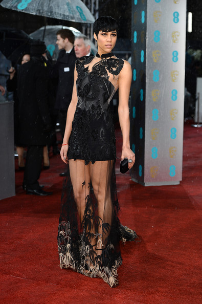 Zawe Ashton BAFTA Feb 2013